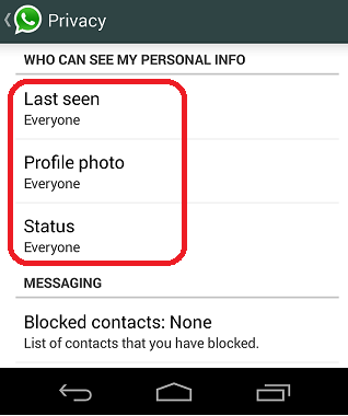 Check my whatsapp last seen online