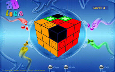 3d Logic Cube The 100 Best, Free Online Flash Games