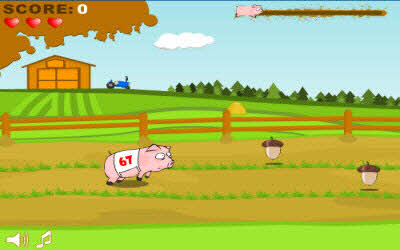 Pig Race The 100 Best, Free Online Flash Games