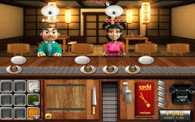 Sushi Chef The 100 Best, Free Online Flash Games