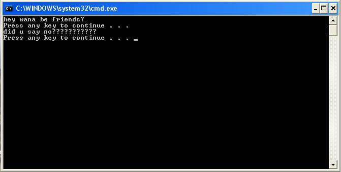 dos prompt program Use Notepad(.bat) to Shutdown your PC(Windows Only)
