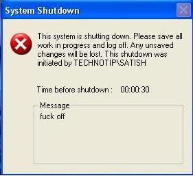 shut down bat Use Notepad(.bat) to Shutdown your PC(Windows Only)