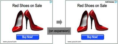 adsense new shoe store Adsense Ads With New Label