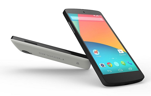 Nexus5 tilted Nexus 5 and KitKat Treat: Live!