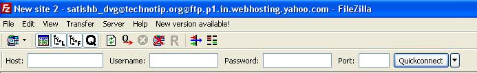 FileZilla-server-name-user-name-passowrd-field