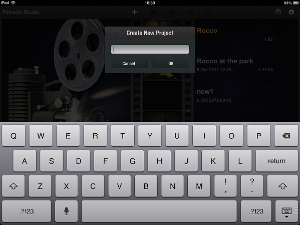 create a project pinnacle ipad Step by step guide to Video editing on an iPad