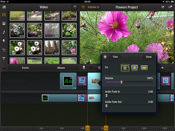 delete media in pinnacle ipad Step by step guide to Video editing on an iPad
