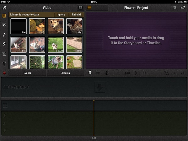 ipad pinnacle timeline Step by step guide to Video editing on an iPad